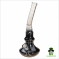"Bong  ""Black leaf"" sort  H:34 cm Ø:30mm Slamrør 14,5mm"