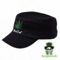 Black leaf army cap (one size)