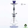 Hookah with Borosilicate Glass Bottle- H:43cm