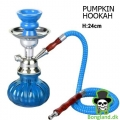 Mini Pumpkin Hookah -Blue- H:24cm