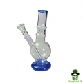 "Bong  ""ice mini"" blå  H:21 cm Ø:30mm Slamrør 14,5mm"