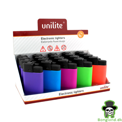 Lighter Unilite Electronic Lightere Bongland Dk Headshop