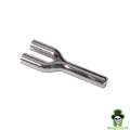 Double metal snuffer